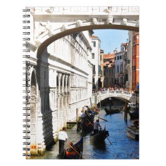 Bridge in Venice, Italy Notebook