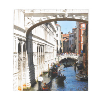 Bridge in Venice, Italy Notepad