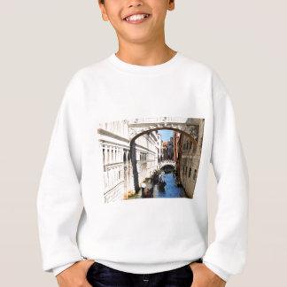 Bridge in Venice, Italy Sweatshirt
