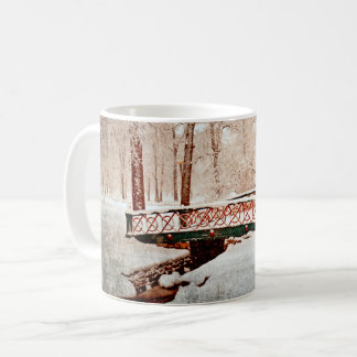Bridge in Winter Mug