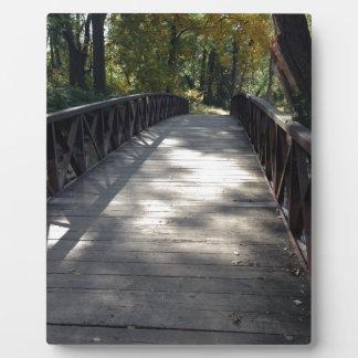 Bridge into the Park Plaque