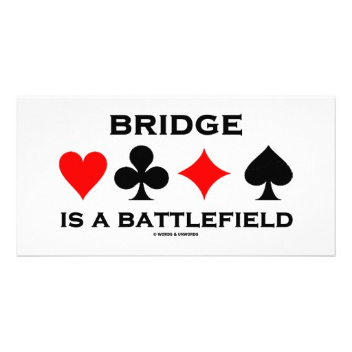Bridge Is A Battlefield Photo Cards