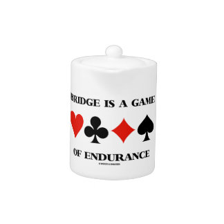 Bridge Is A Game Of Endurance (Four Card Suits)