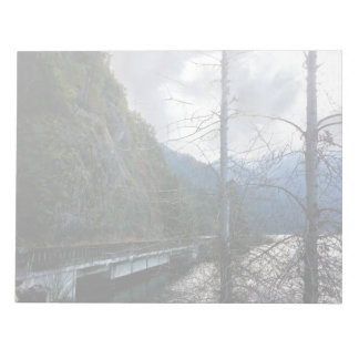 Bridge next to Lake Crescent Notepads