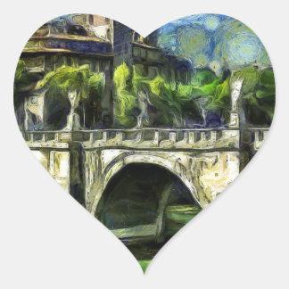 Bridge Of Angels Heart Sticker