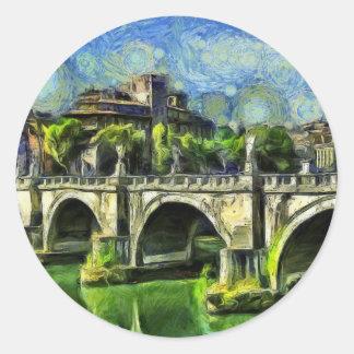 Bridge Of Angels Round Sticker