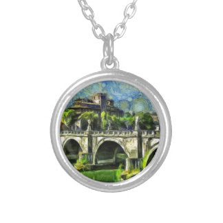 Bridge Of Angels Silver Plated Necklace