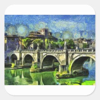Bridge Of Angels Square Sticker