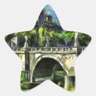 Bridge Of Angels Star Sticker