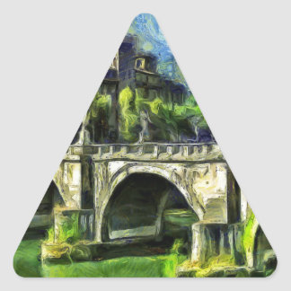 Bridge Of Angels Triangle Sticker
