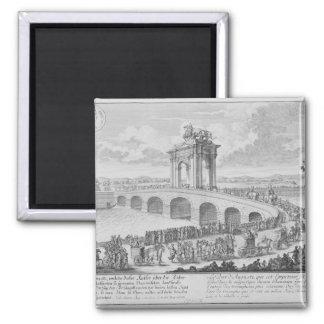 Bridge of Augustus on Via Flaminia, near Rimini, I Magnet