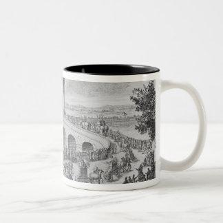 Bridge of Augustus on Via Flaminia, near Rimini, I Two-Tone Coffee Mug