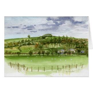 """Bridge of Pauperhaugh"" Northumberland, England Card"