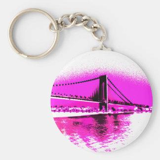 Bridge of Pink Dreams keychain