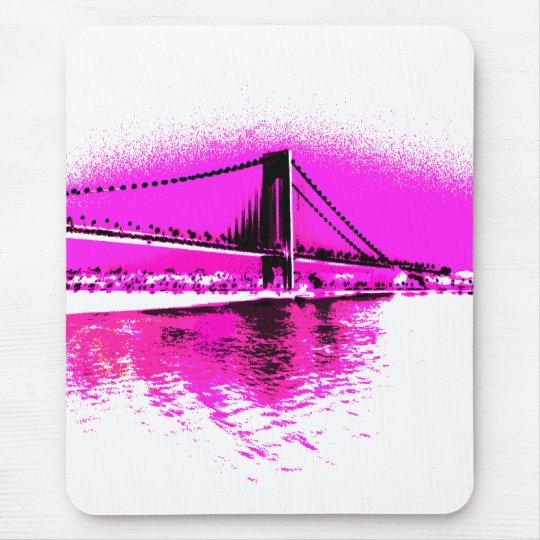 Bridge of Pink Dreams mousepad