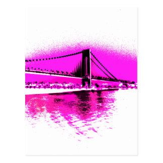 Bridge of Pink Dreams postcard
