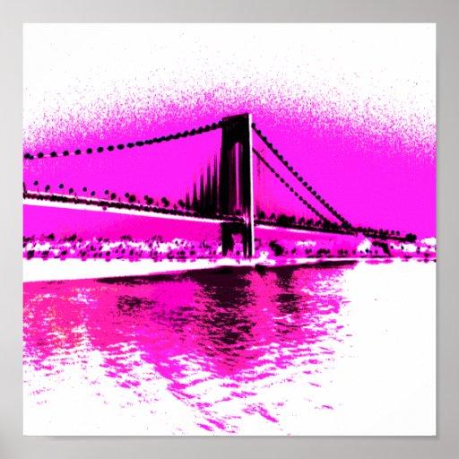 Bridge of Pink Dreams print