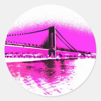 Bridge of Pink Dreams sticker