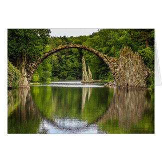 Bridge of Romance in Germany Card