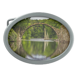 Bridge of Romance in Germany Oval Belt Buckle