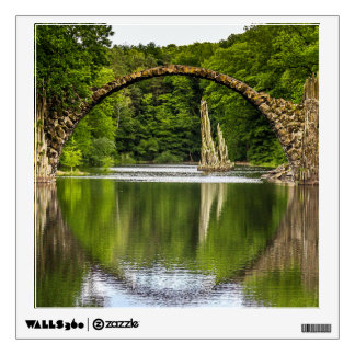 Bridge of Romance in Germany Wall Decal