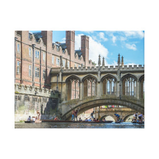 Bridge of Sighs, Cambridge canvas print