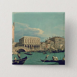 Bridge of Sighs, Venice  c.1740 2 Inch Square Button