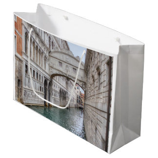 Bridge Of Sighs Venice Italy Large Gift Bag