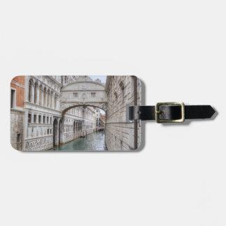 Bridge Of Sighs Venice Italy Luggage Tag