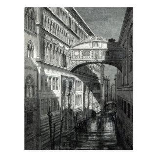 Bridge of Sighs, Venice Postcard
