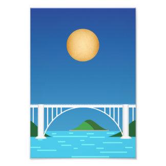 Bridge of the Friendship, City of the East Photo Print