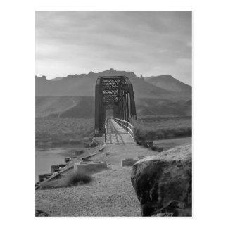 Bridge on Snake River - by Fern Savannah Post Cards
