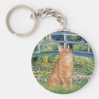 Bridge - Orange Tabby SH cat 46 Keychain
