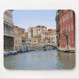 Bridge over a canal, Grand Canal, Venice, Italy Mouse Pad