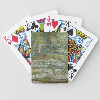 Bridge over a Pond of Water Lilies Bicycle Playing Cards