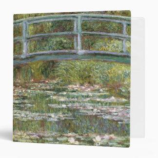Bridge over a Pond of Water Lilies by Claude Monet Vinyl Binder