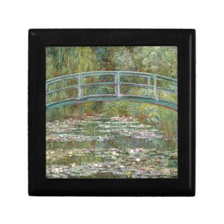 Bridge over a Pond of Water Lilies Gift Box