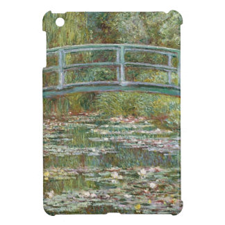 Bridge over a Pond of Water Lilies iPad Mini Cases