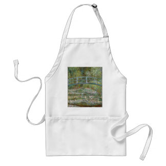Bridge over a Pond of Water Lilies Standard Apron