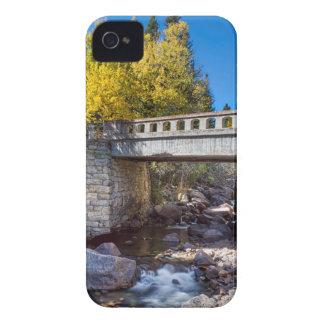 Bridge Over Autumn Waters iPhone 4 Cover