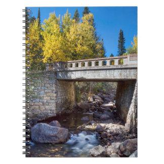 Bridge Over Autumn Waters Note Books