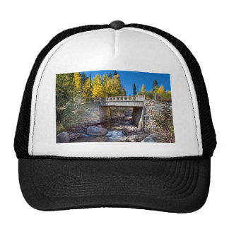 Bridge Over Autumn Waters Trucker Hat