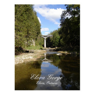 Bridge Over Elora Gorge Postcard