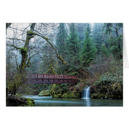 Bridge Over Hackleman Creek, No. 2 Card