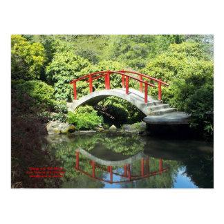 Bridge over Still Water Postcard
