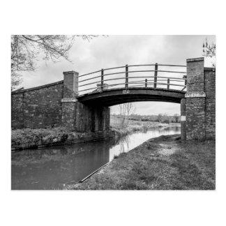 """Bridge over the canal"" design postcards"