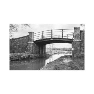 """""""Bridge over the canal"""" wall art"""