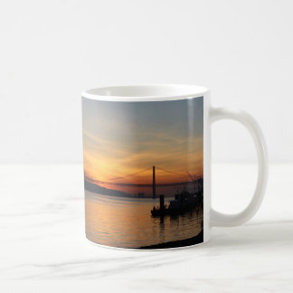 Bridge over the River Tagus at Sunset Coffee Mug