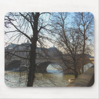Bridge over the Seine, mousepad