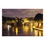 Bridge Over The Tiber River Photographic Print
